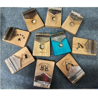 Đàn kalimba gỗ 17 phím
