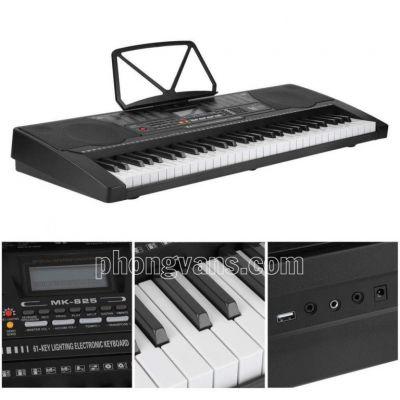 Đàn organ điện tử Meike MK825 phím sáng