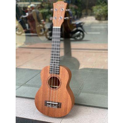 Ukulele gỗ concert 21 inch Muslady